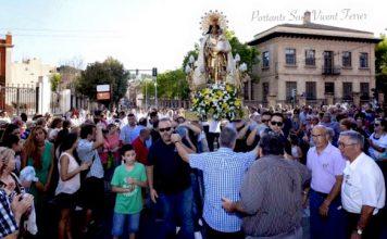 visita de la Mare de Déu dels Desemparats a Llíria